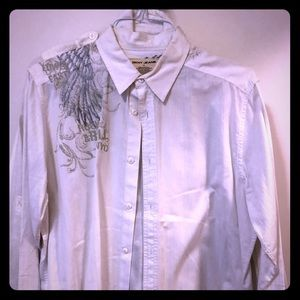 Men's styling button down